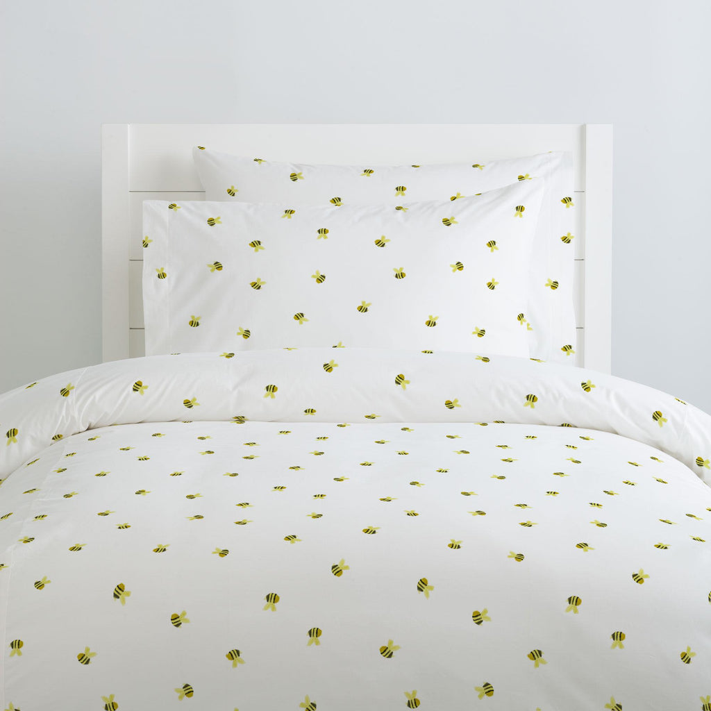 Product image for Watercolor Bees Pillow Case