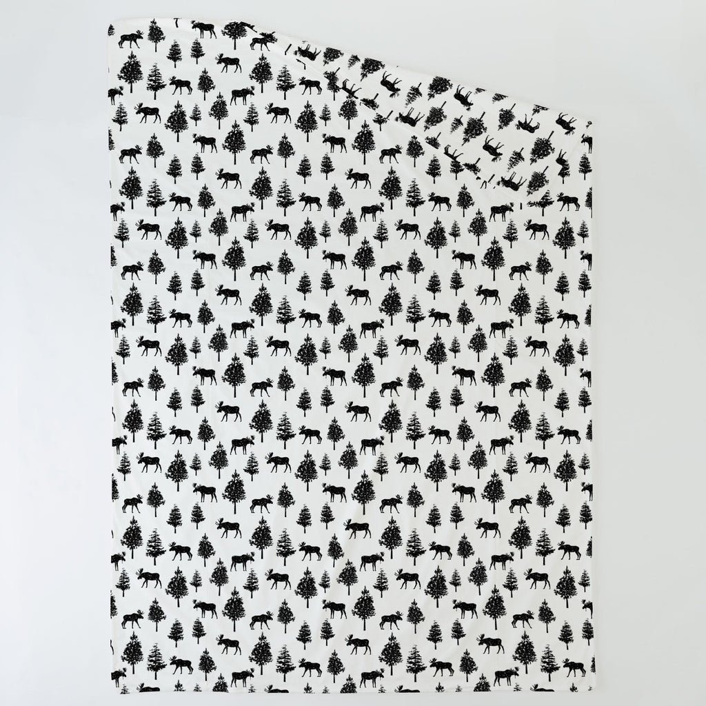 Product image for Onyx Moose Duvet Cover