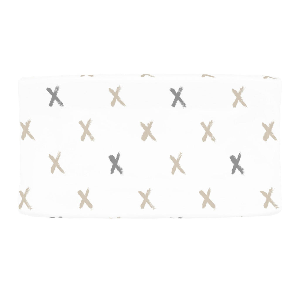 Product image for Taupe and Cloud Gray Brush X Changing Pad Cover