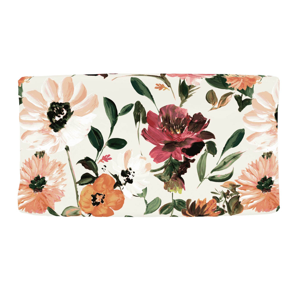 Product image for Moody Floral Changing Pad Cover