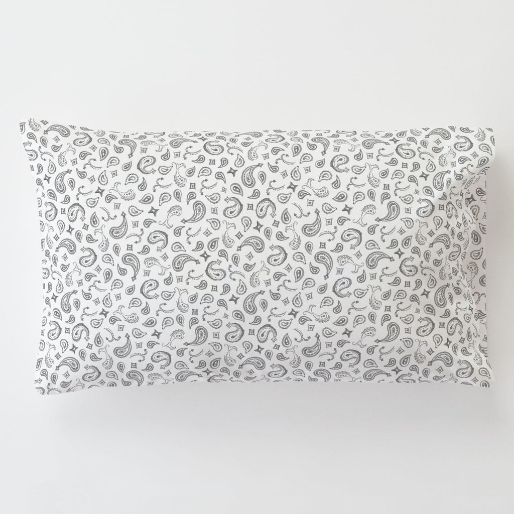 Product image for Bandana Paisley Toddler Pillow Case