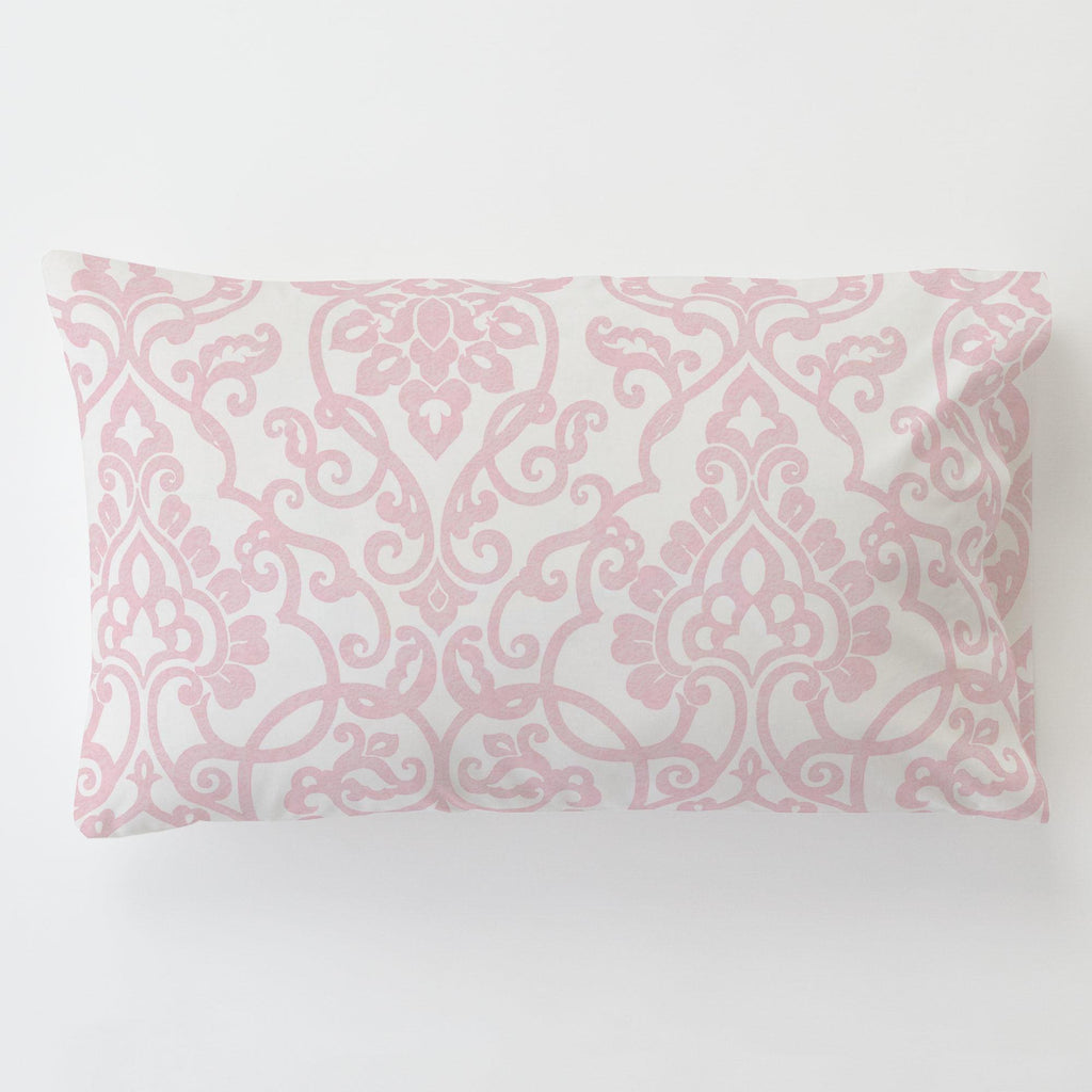 Product image for Pink Filigree Toddler Pillow Case