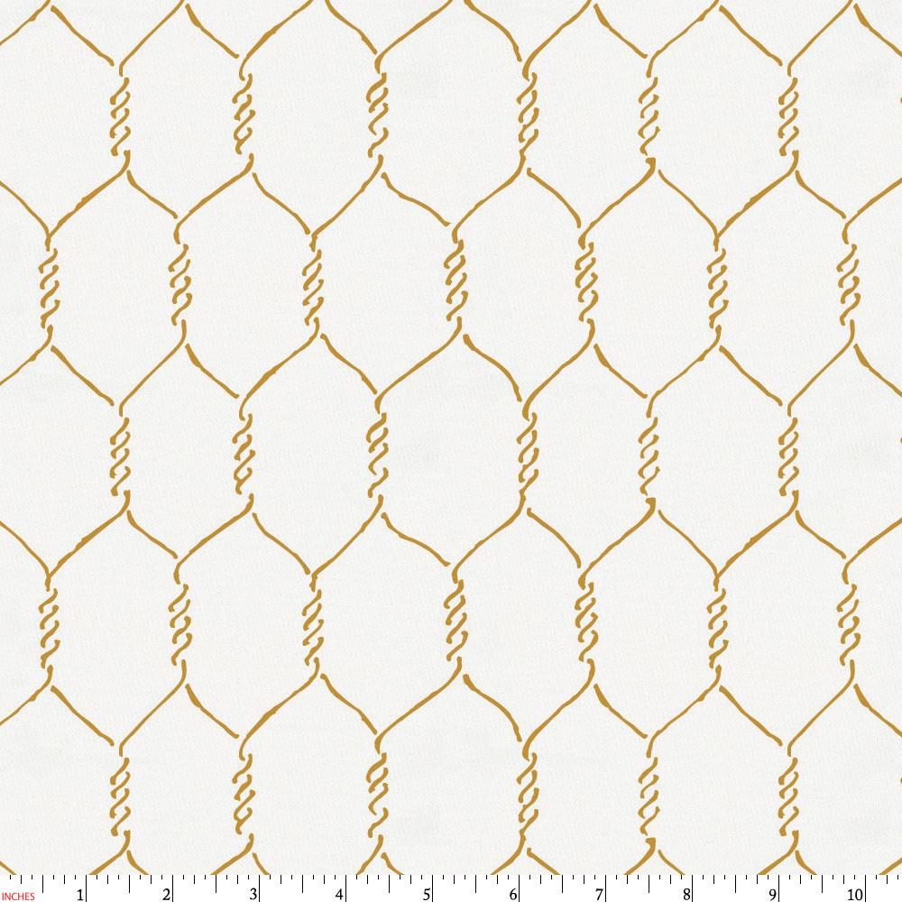 Product image for Mustard Farmhouse Wire Fabric