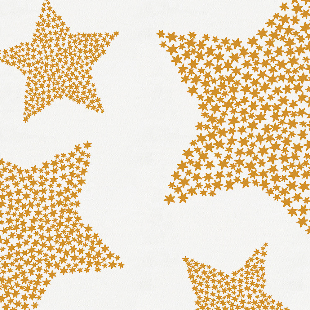 Product image for Mustard Galaxy Stars Drape Panel