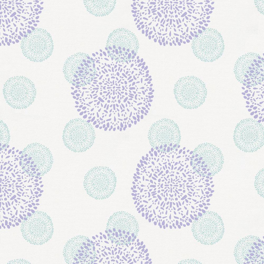 Product image for Lilac and Mist Dandelion Drape Panel