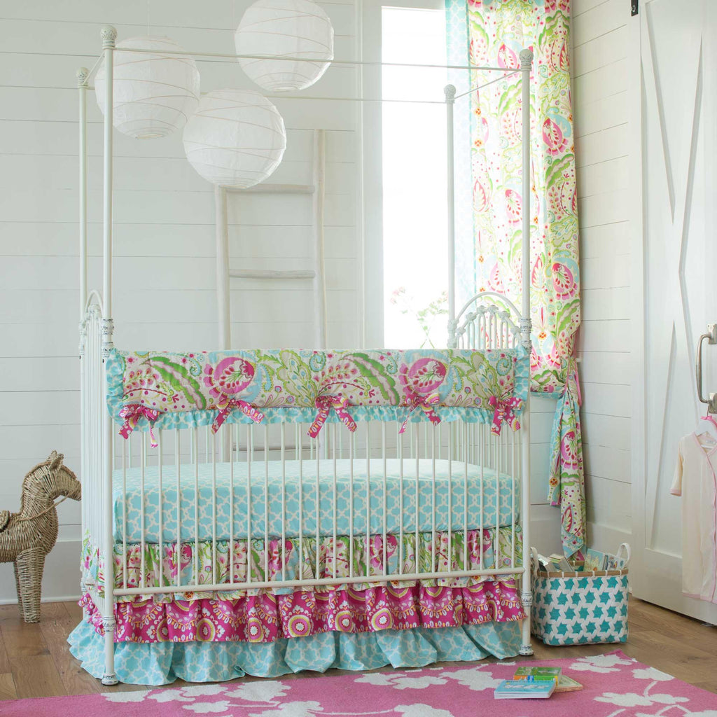 Product image for Kumari Garden Teja Crib Rail Cover