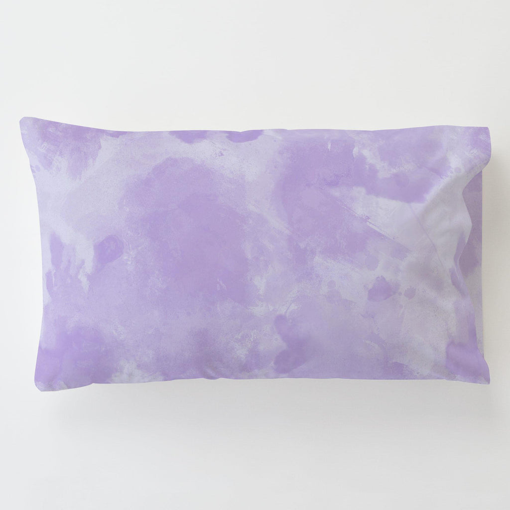 Product image for Lilac Watercolor Toddler Pillow Case