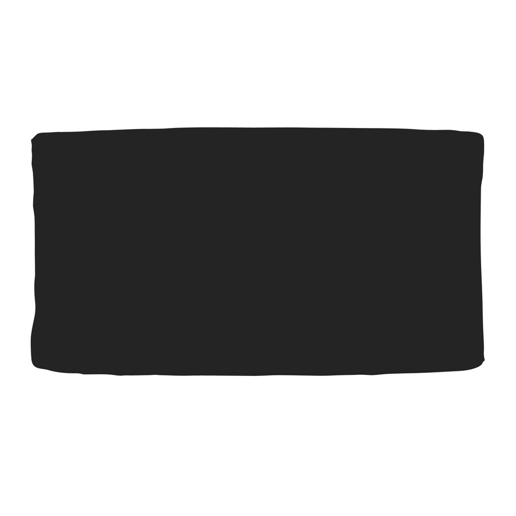 Product image for Solid Black Changing Pad Cover