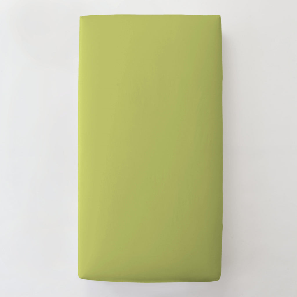 Product image for Solid Citron Toddler Sheet Bottom Fitted
