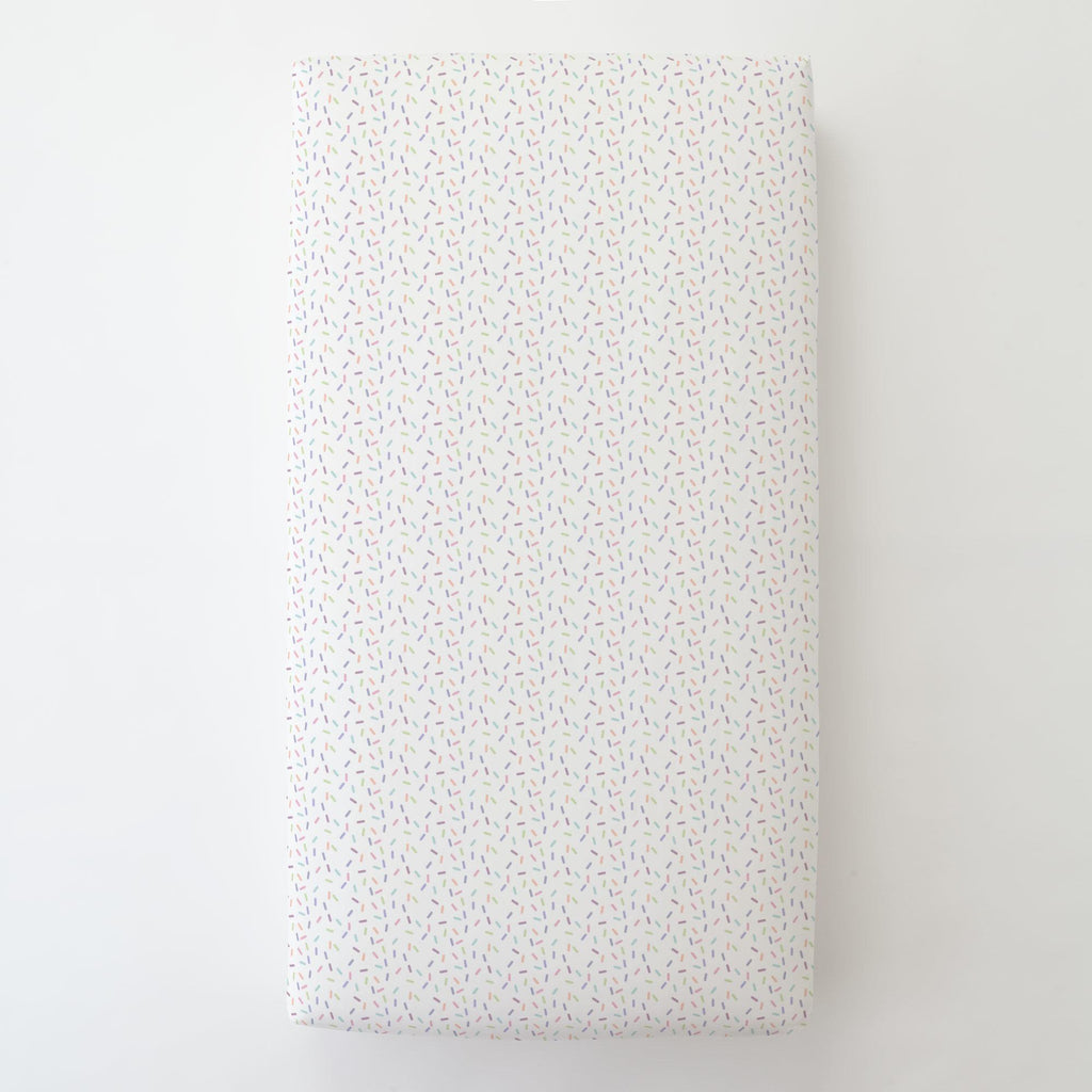 Product image for Pastel Sprinkles Toddler Sheet Bottom Fitted