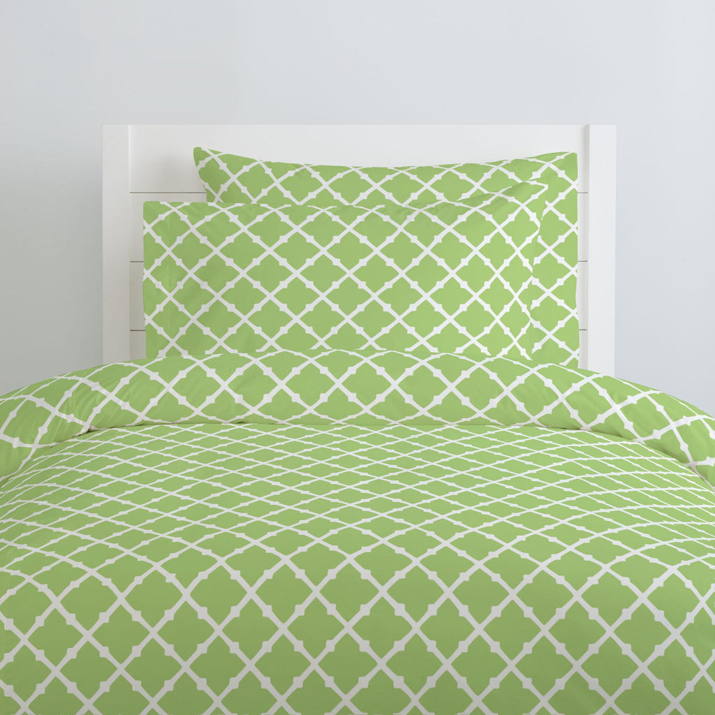 Product image for Kiwi Lattice Pillow Case