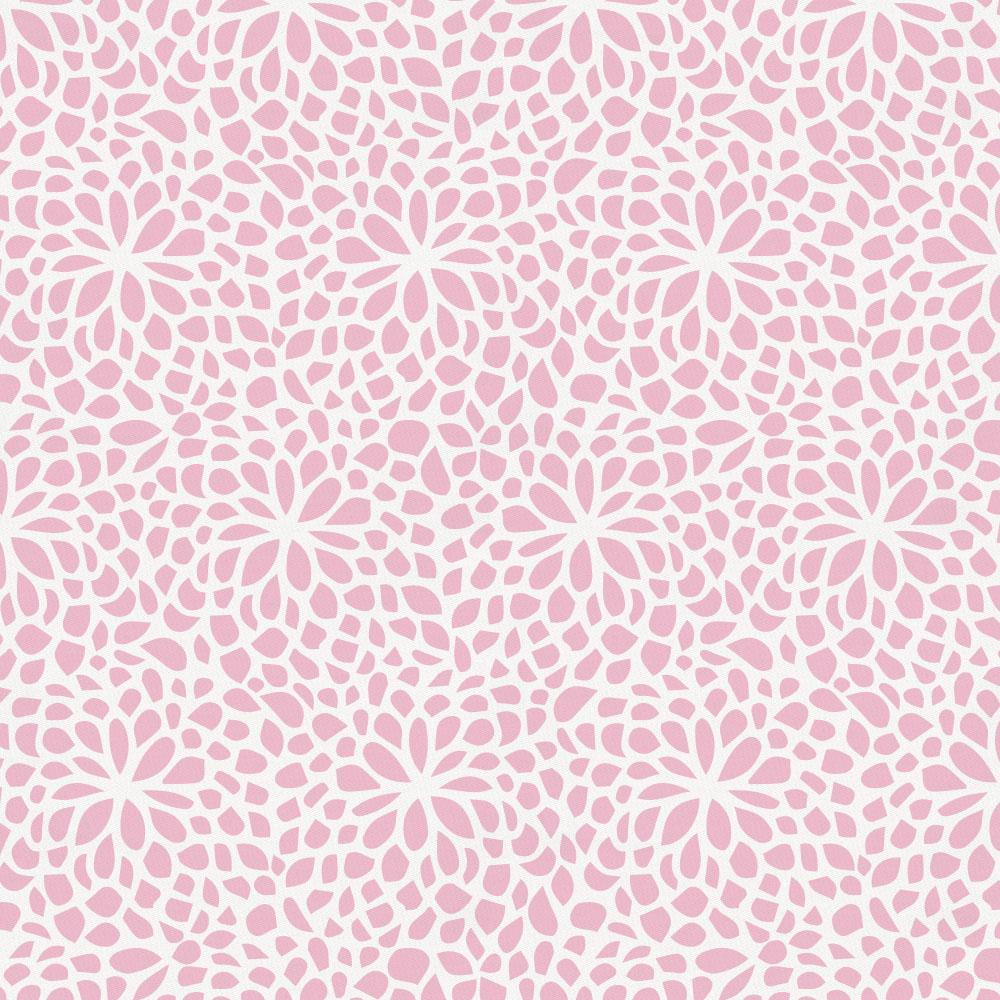 Product image for Bubblegum Pink Modern Mums Drape Panel