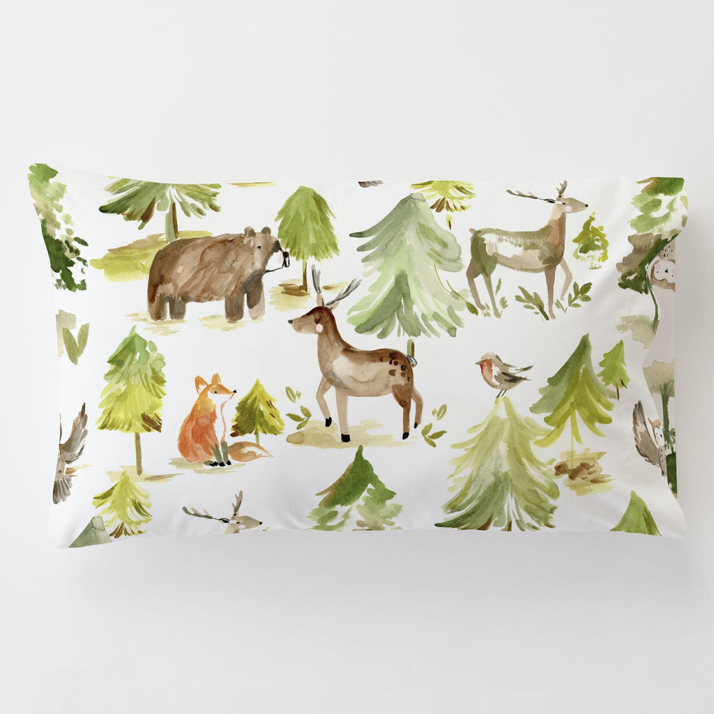 Product image for Painted Forest Toddler Pillow Case