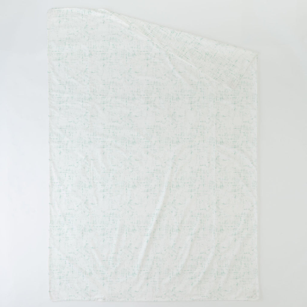 Product image for Mint Distressed Duvet Cover
