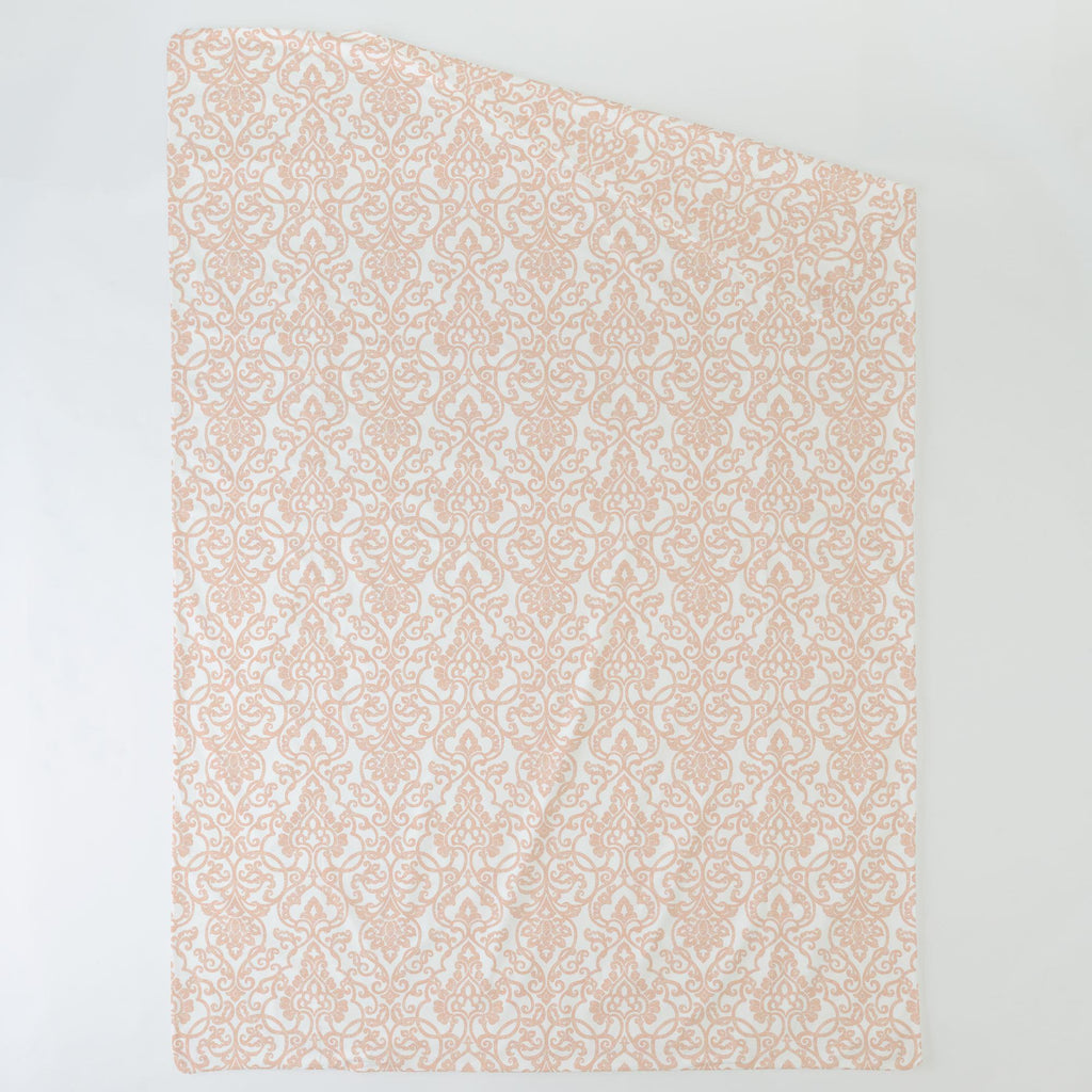 Product image for Peach Filigree Duvet Cover