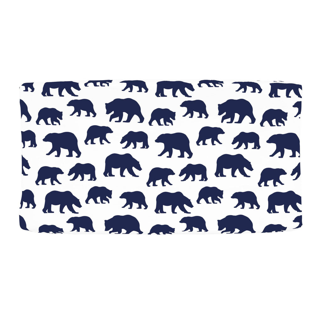 Product image for Navy Bears Changing Pad Cover