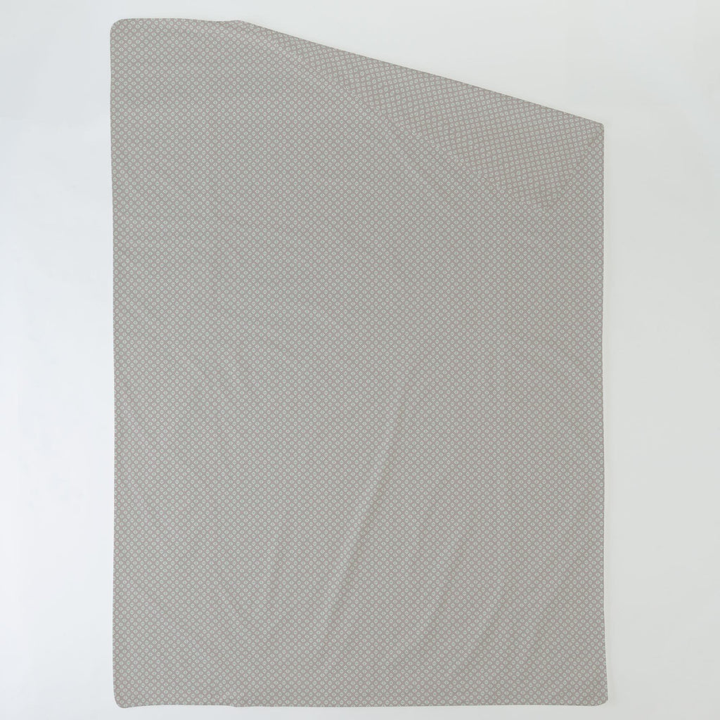 Product image for Taupe and Mint Diamond Duvet Cover