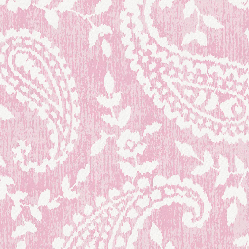 Product image for Pink Paisley Drape Panel