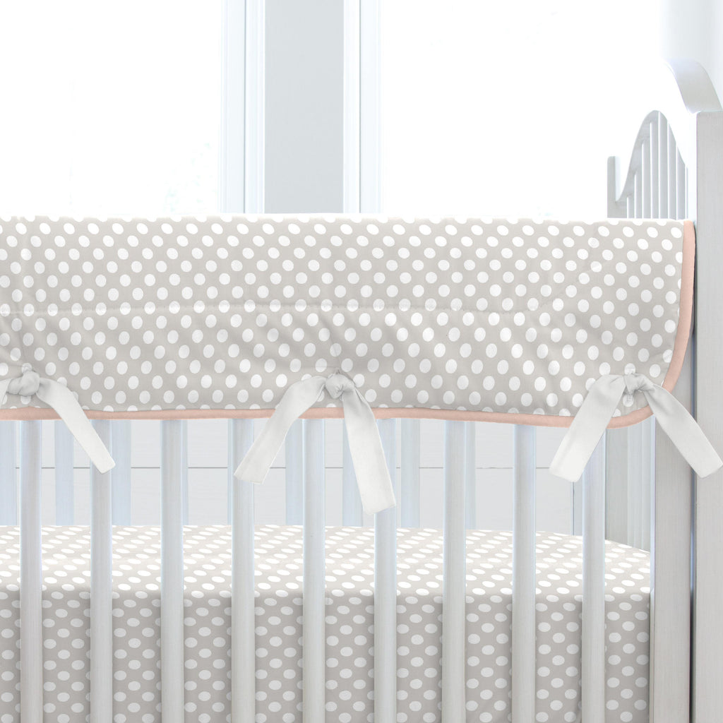 Product image for Blush Garden Crib Rail Cover
