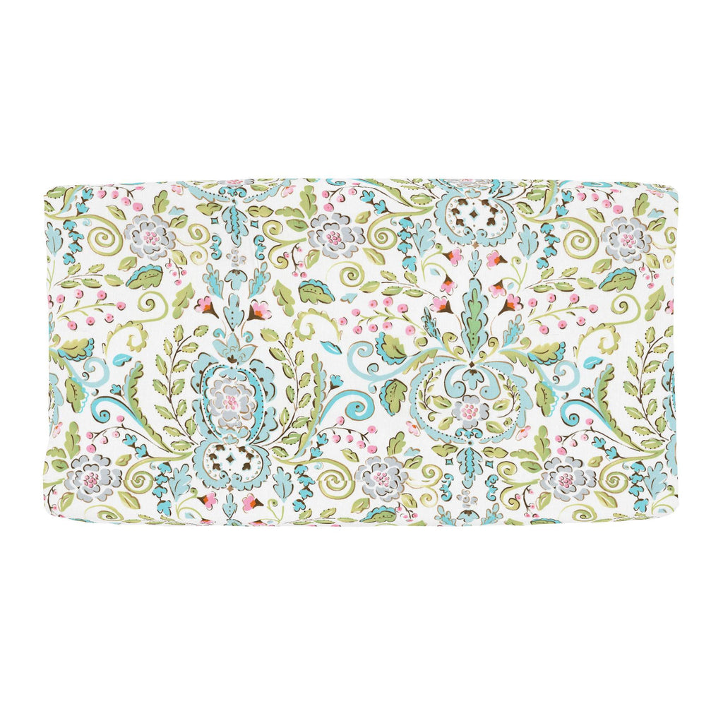 Product image for Love Bird Damask Changing Pad Cover