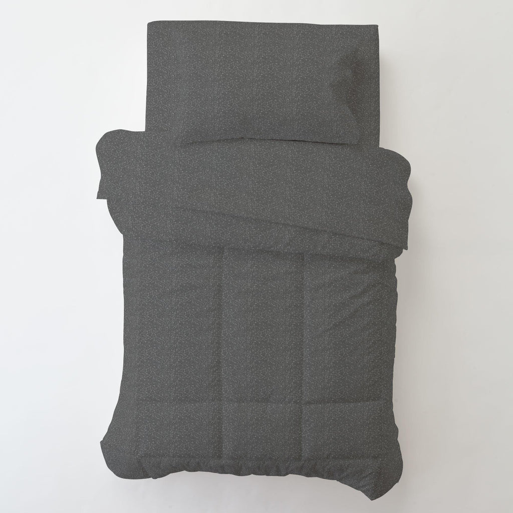 Product image for Dark Gray Heather Toddler Comforter