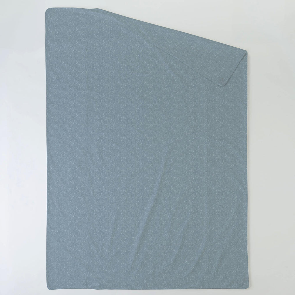 Product image for Steel Blue Heather Duvet Cover