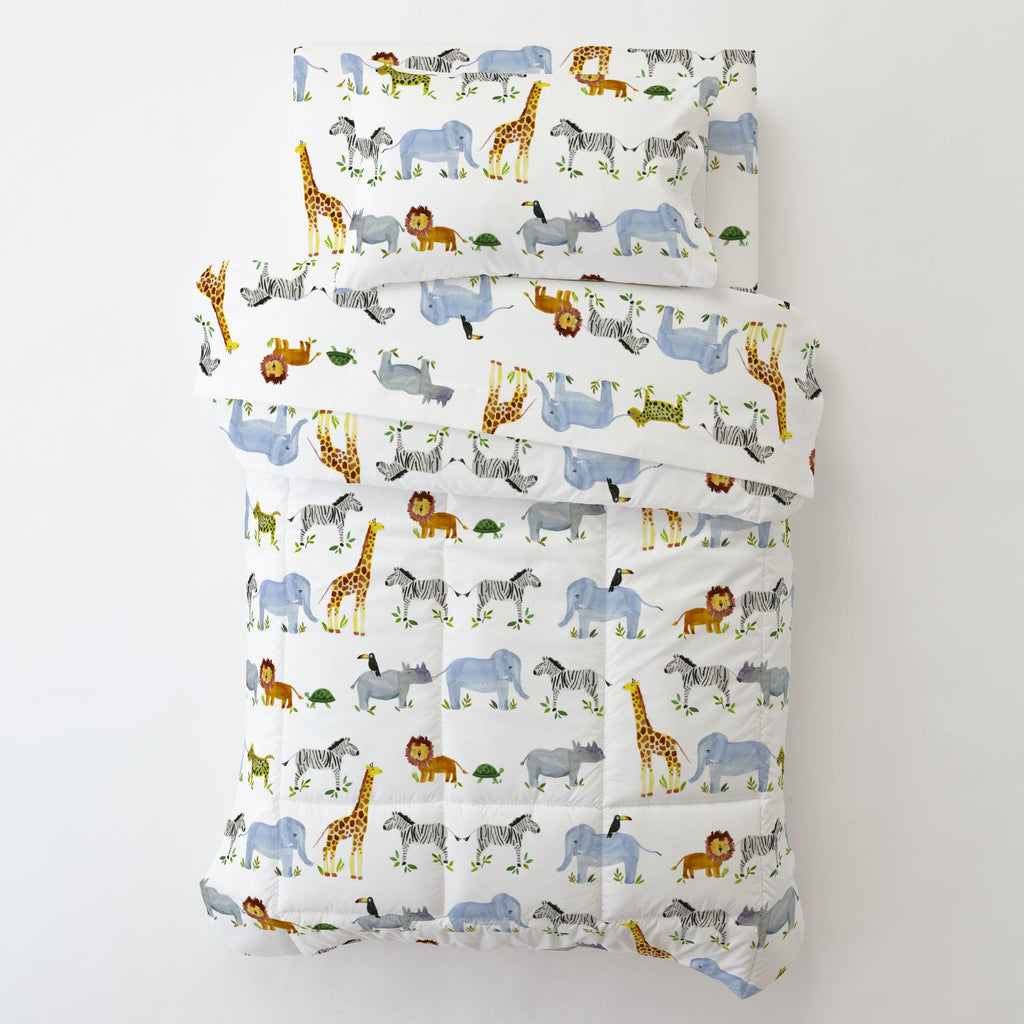 Product image for Painted Zoo Toddler Comforter
