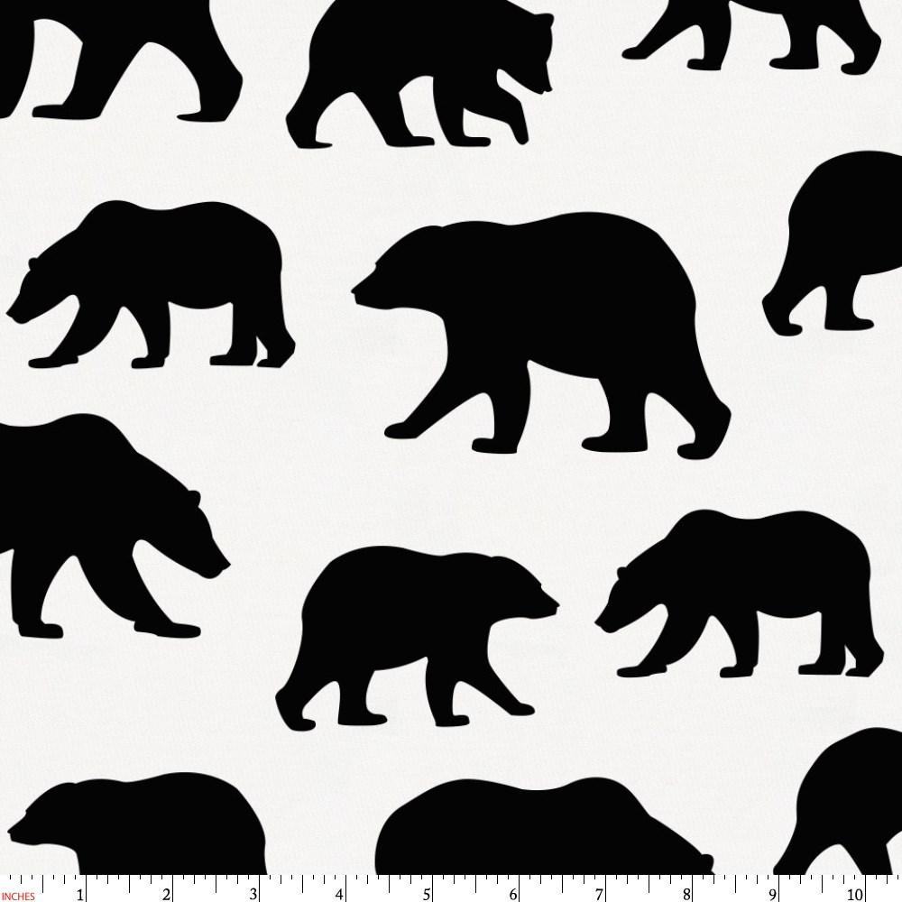Product image for Onyx Bears Fabric