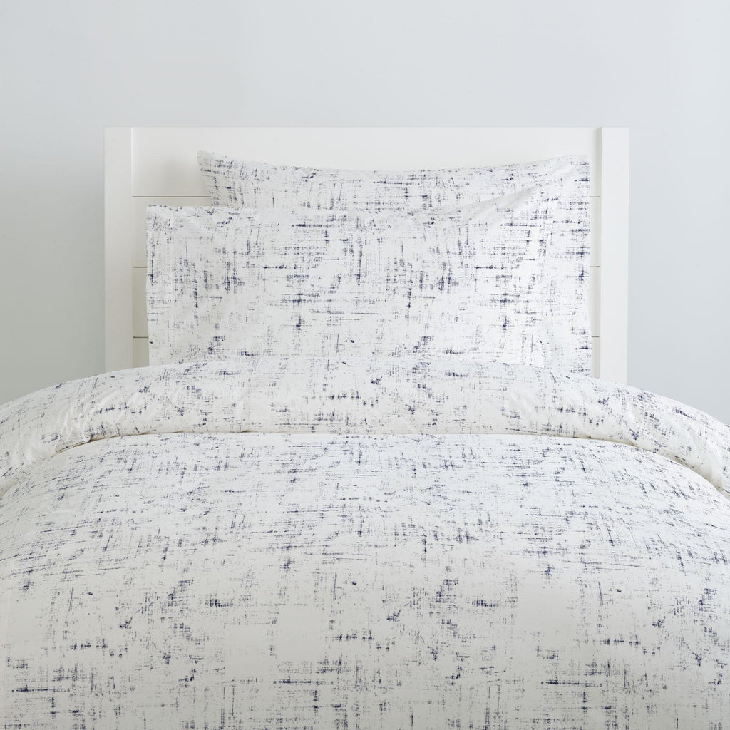 Product image for Navy Distressed Pillow Case