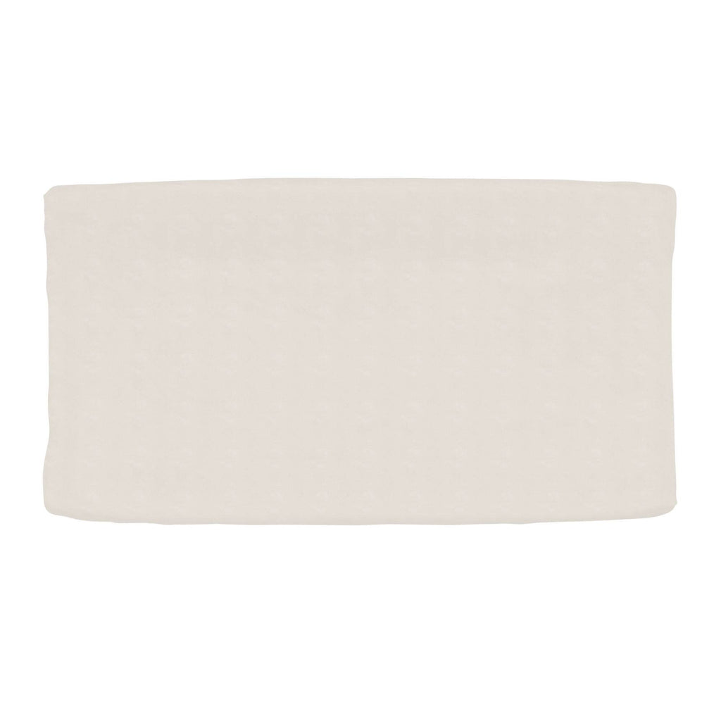 Product image for Solid Latte Minky Changing Pad Cover