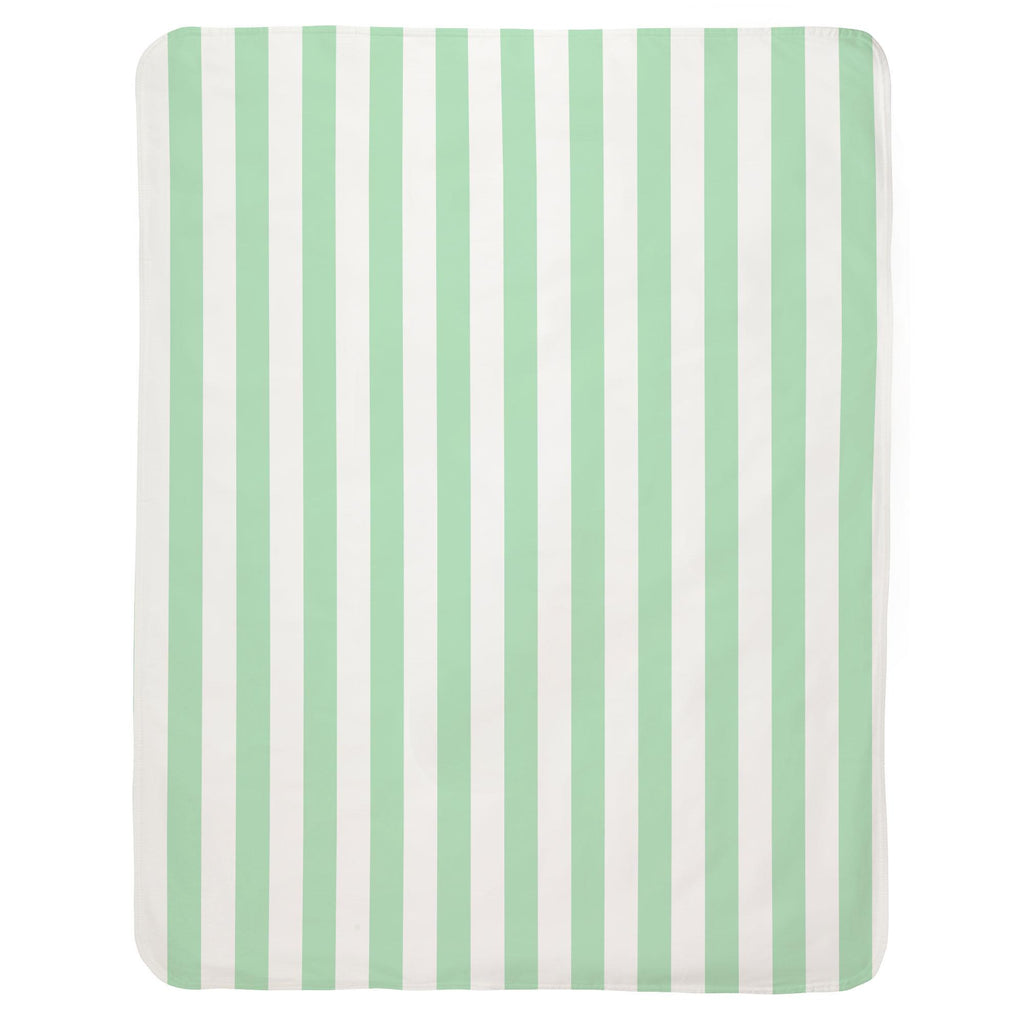 Product image for Mint Stripe Baby Blanket