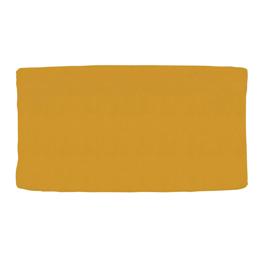 Product image for Solid Mustard Yellow Changing Pad Cover