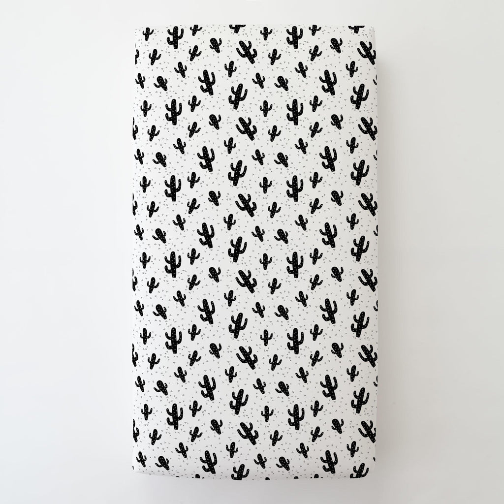 Product image for Onyx Cactus Toddler Sheet Bottom Fitted