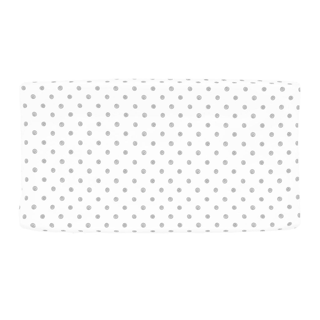 Product image for Cloud Gray Ditsy Dot Changing Pad Cover
