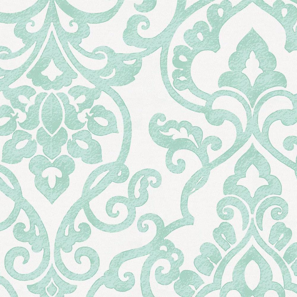 Product image for Mint Filigree Throw Pillow