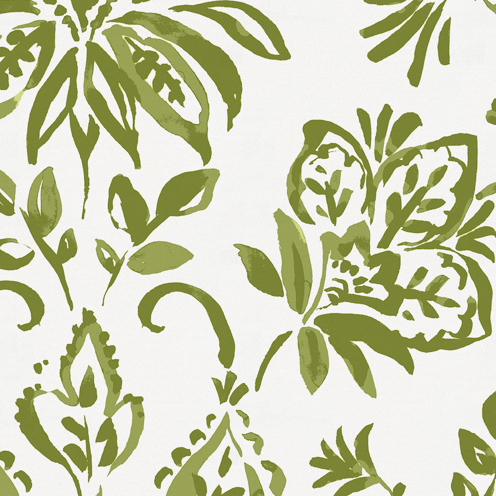 Product image for Sage Coastal Damask Drape Panel