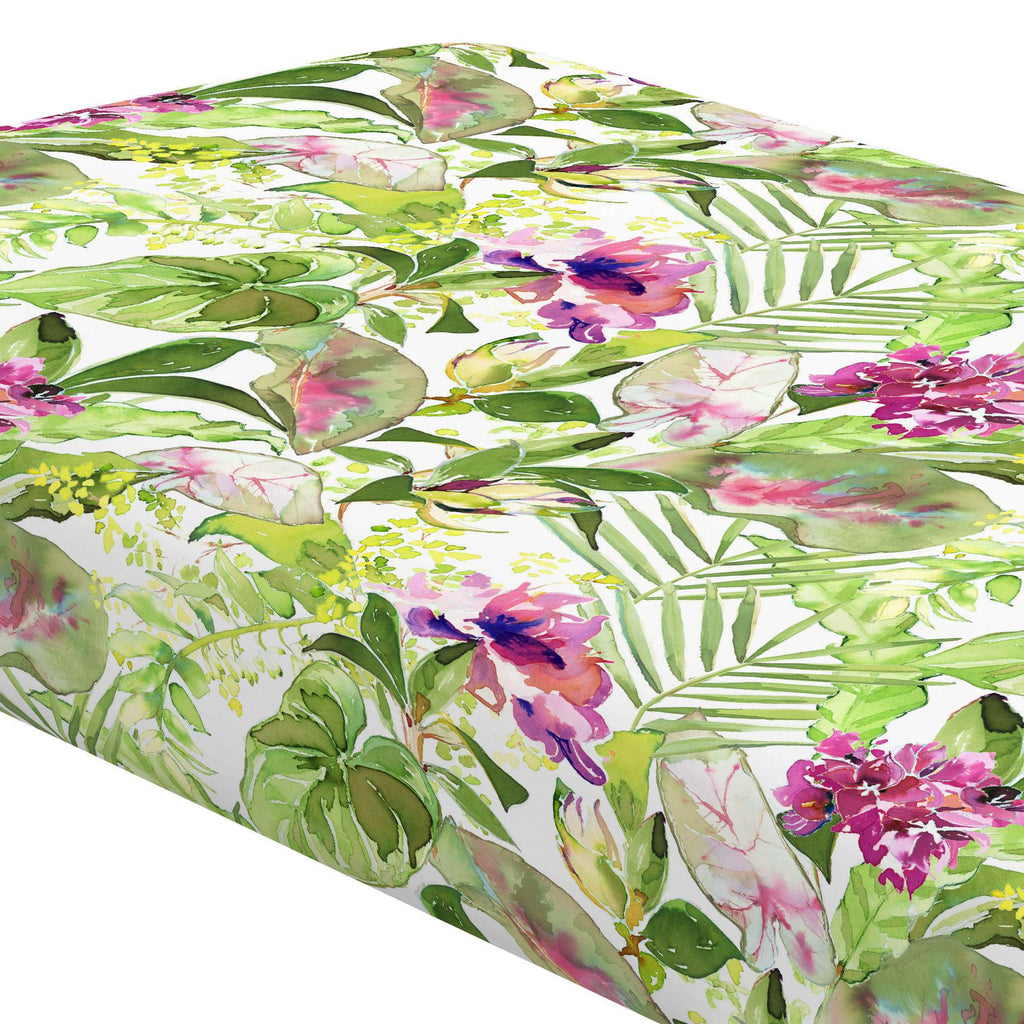 Product image for Tropical Garden Crib Sheet