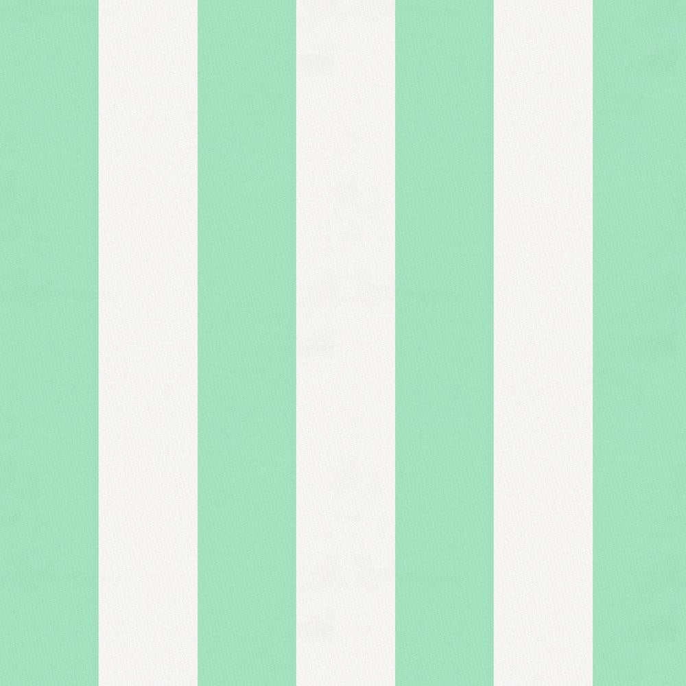 Product image for Mint Stripe Crib Skirt Single-Pleat
