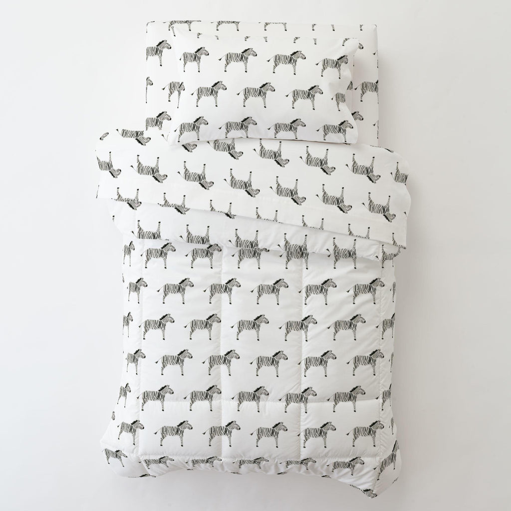 Product image for Painted Zebra Toddler Sheet Bottom Fitted
