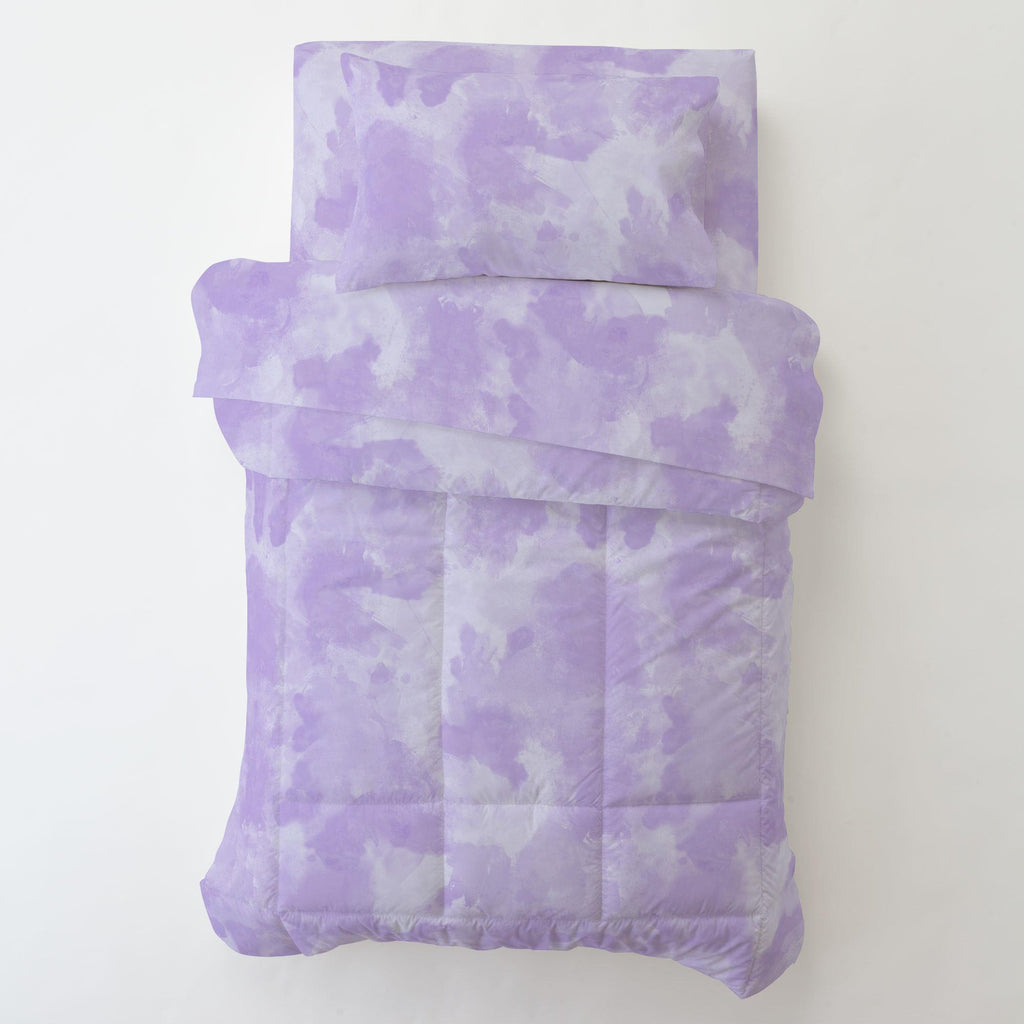 Product image for Lilac Watercolor Toddler Sheet Bottom Fitted