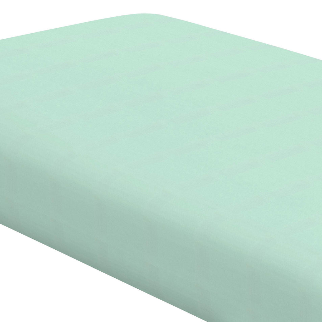 Product image for Solid Mint Crib Sheet