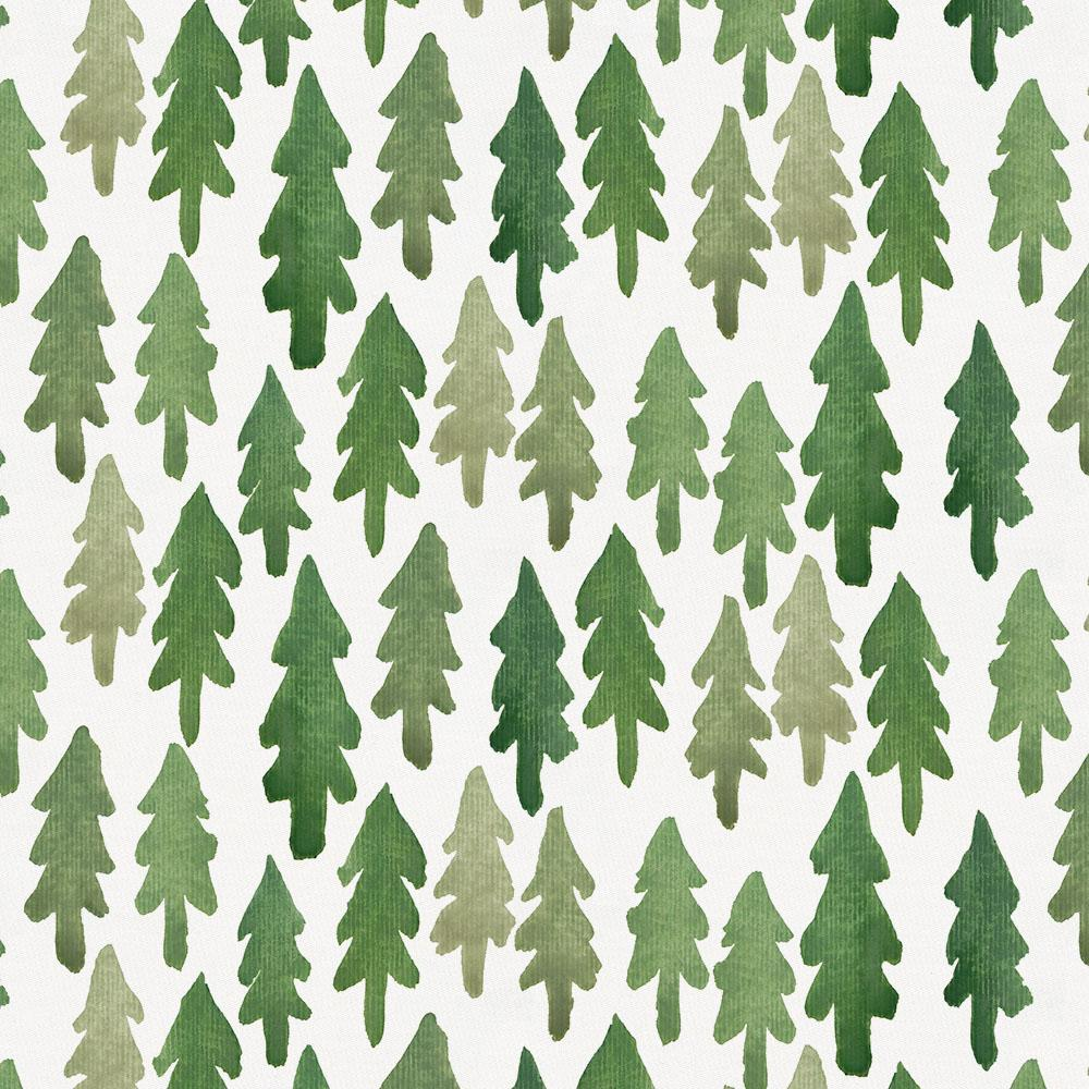 Product image for Evergreen Forest Mini Crib Sheet