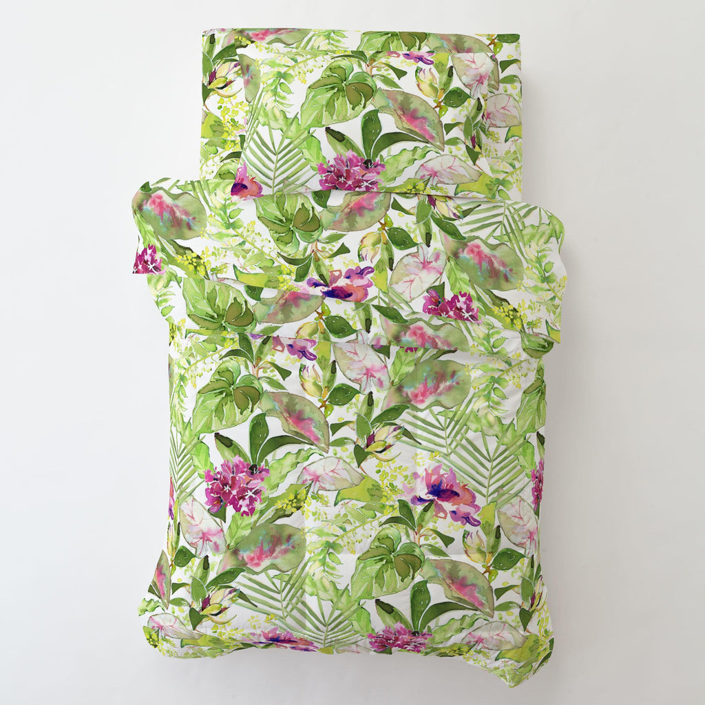Product image for Tropical Garden Toddler Sheet Top Flat