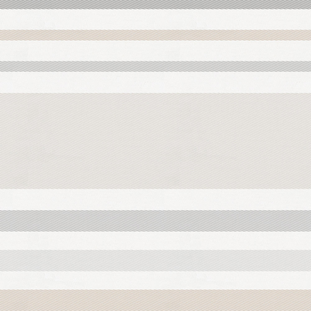 Product image for French Gray and Taupe Summer Stripe Mini Crib Sheet