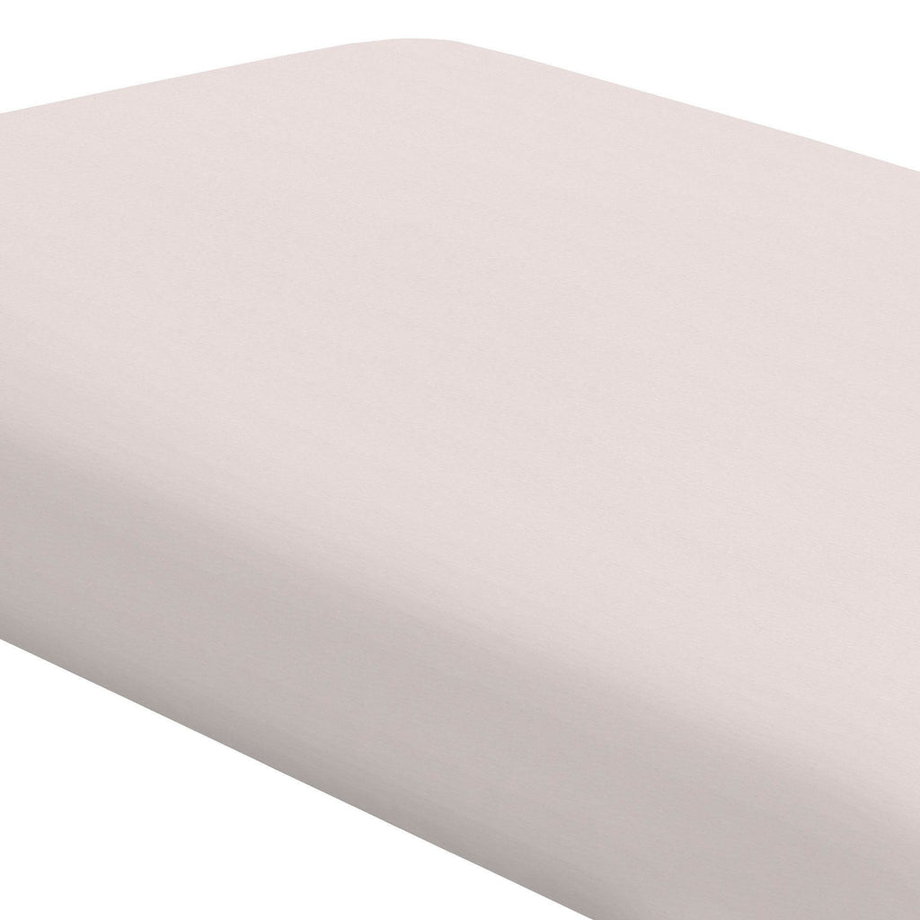 Product image for Light Pink Linen Crib Sheet
