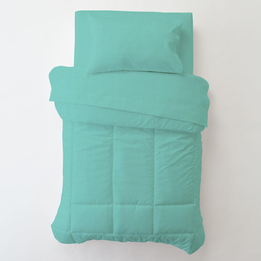 Product image for Solid Teal Toddler Pillow Case