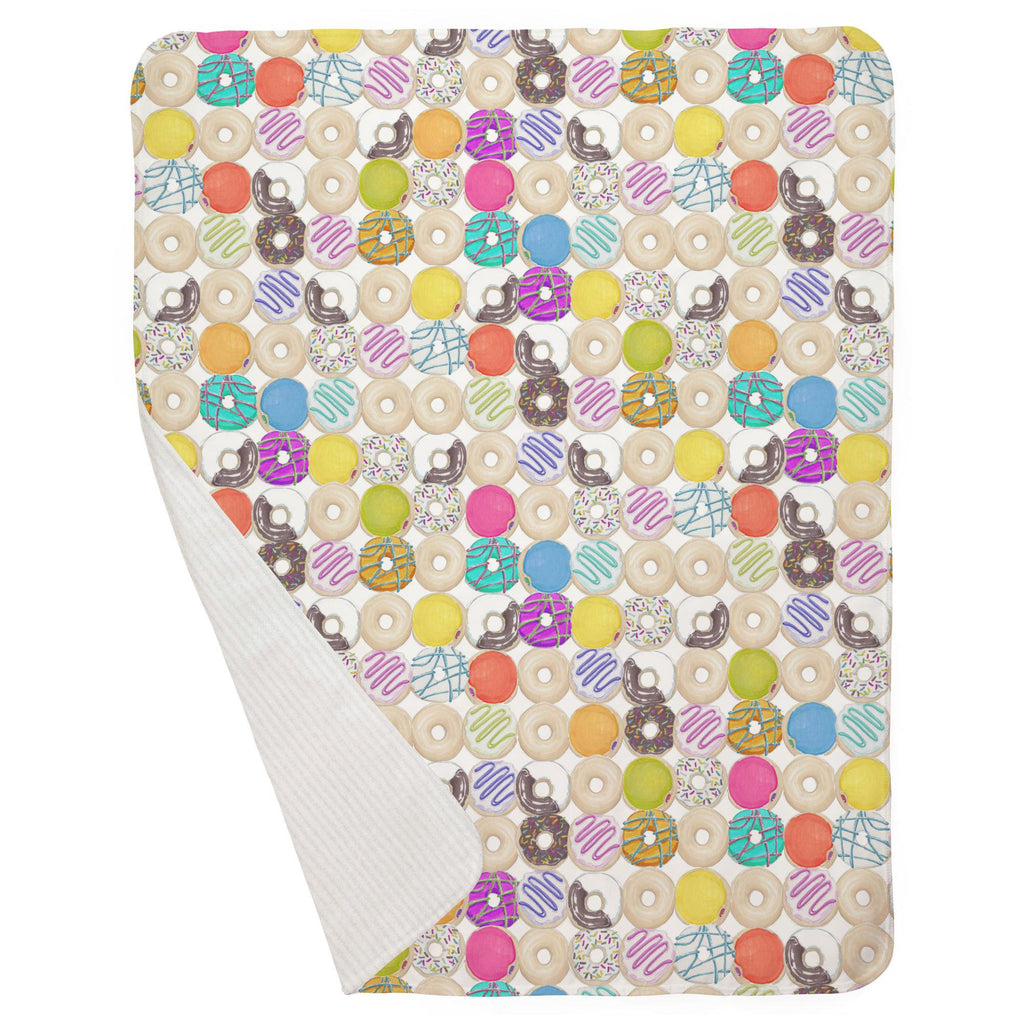 Product image for Donuts Baby Blanket