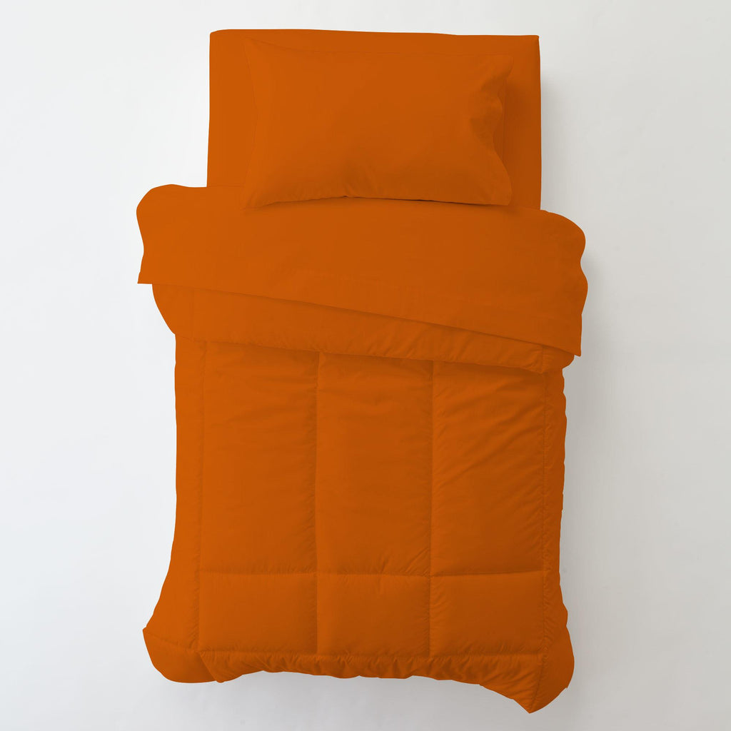 Product image for Solid Orange Toddler Pillow Case