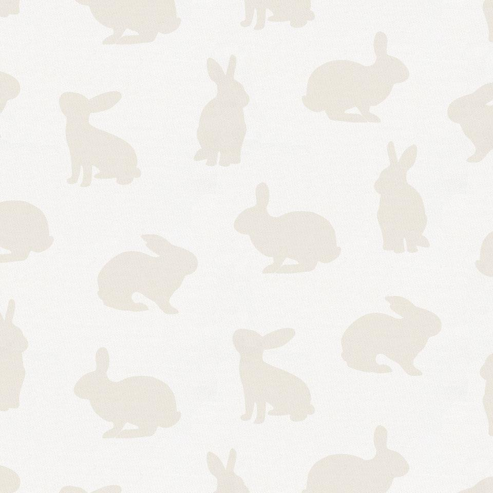 Product image for Ivory Bunnies Changing Pad Cover