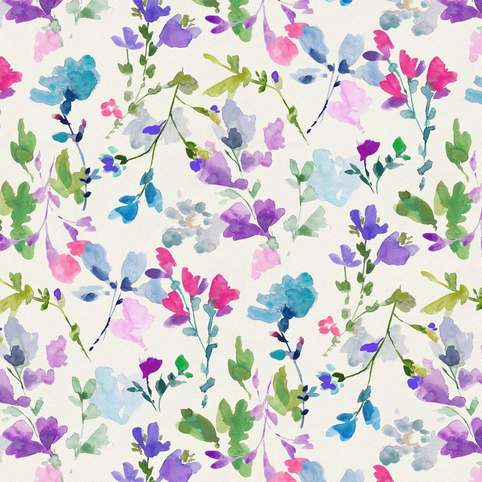 Product image for Bright Wildflower Fabric